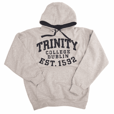 Trinity College 1592 Grey Bold Hoodie