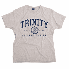 Trinity College Collegiate Seal Grey T-Shirt