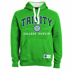 Trinity College Green Hoodie Collegiate Seal
