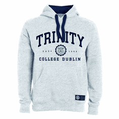 Trinity College Grey Hoodie Collegiate Seal