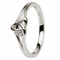 Trinity Knot Sterling Silver Ring