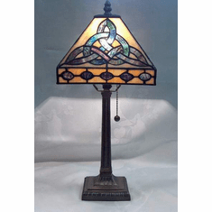 "Trinity Lamp Tiffany Style 18"" high."