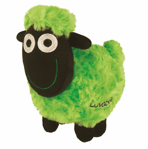 Wacky Woolies - Soft Toy - Green - Small