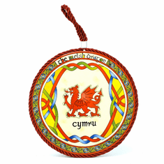 Welsh Dragon Rope Wall Plaque from Royal Tara