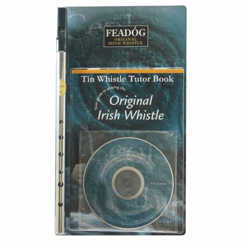 Whistle Nickle Key of D with Tutor Book & CD