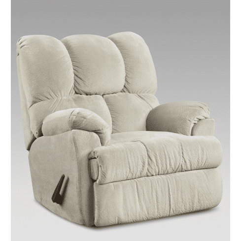2 Aurora Beige Rocker Recliners by Afforable