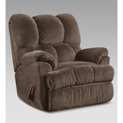 2 Aurora Chocolate Rocker Recliners by Affordable