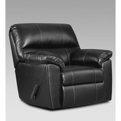 2 Austin Black Rocker Recliners by Affordable