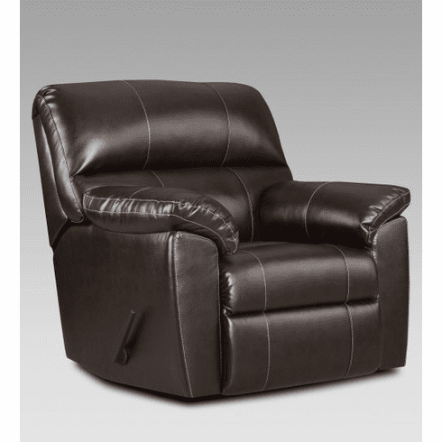 2 Austin Chocolate Rocker Recliners by Affordable