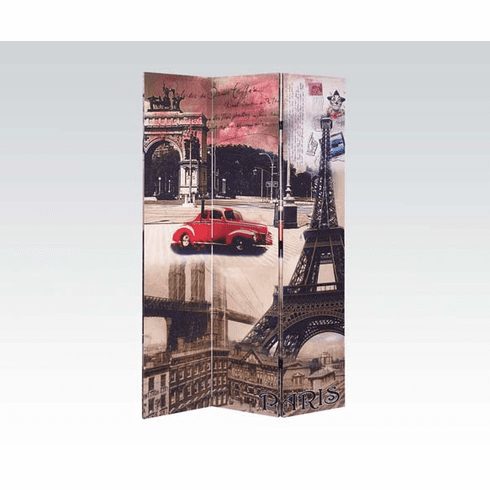 3-Panel Screen by Acme