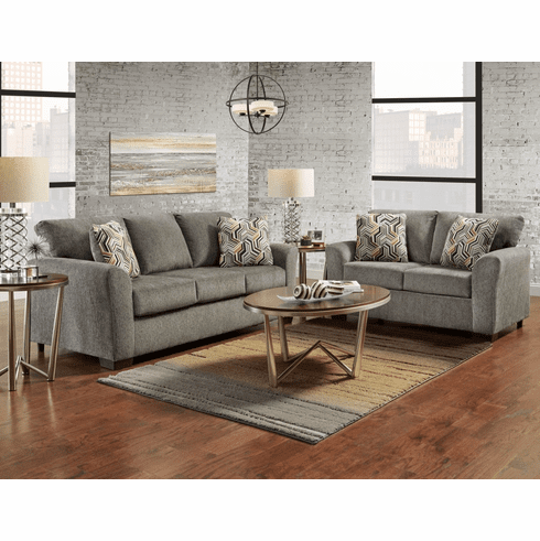 Affordable Allure Grey<br>Sofa Sleeper