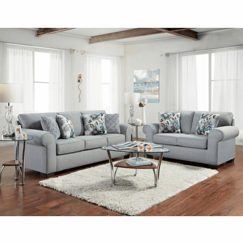 Affordable Furniture<br>Dryden Steel Sofa