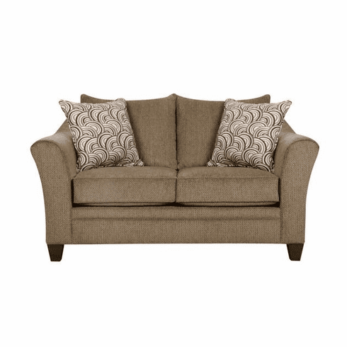 Albany Truffle Loveseat<br>Lane Furniture