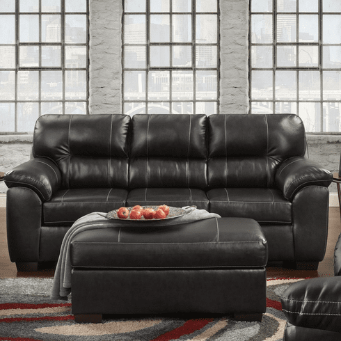 Austin Black Sofa by Affordable Furniture