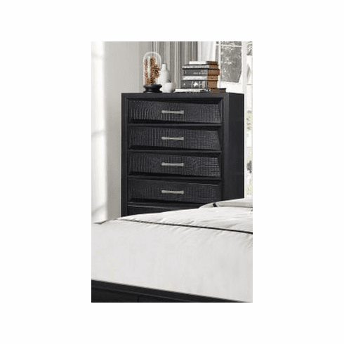 Black Finish Chest by Lifestyle
