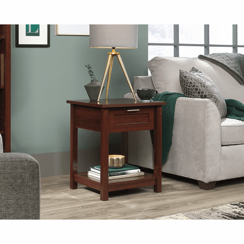 Brookland Cherry Side Table by Sauder