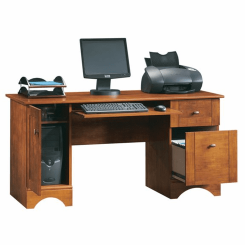 Brushed Maple Computer Desk by Sauder