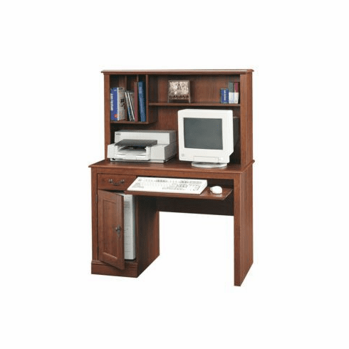 Camden County Computer Desk with Hutch by Sauder