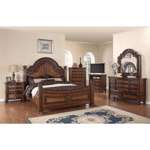 Camelia Maison 7 Piece Tuscano Queen Bedroom