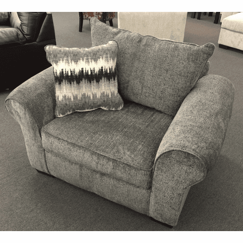 Camero Pewter Chair by Affordable