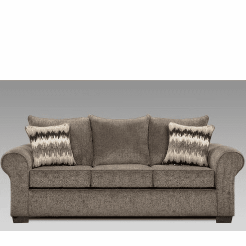 Camero Pewter Sofa by Affordable Furniture
