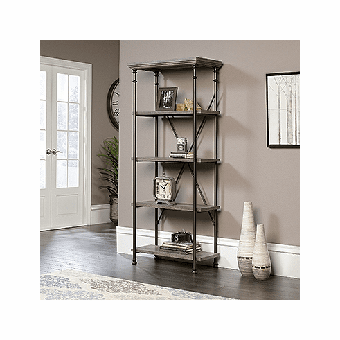 Canal Street 5 Shelf Bookcase by Sauder