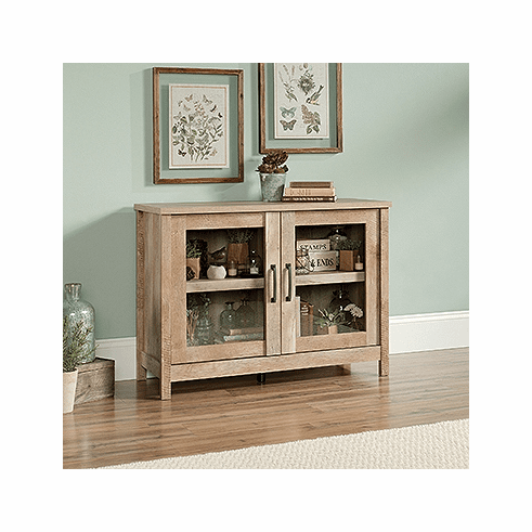 Cannery Bridge Display Cabinet by Sauder