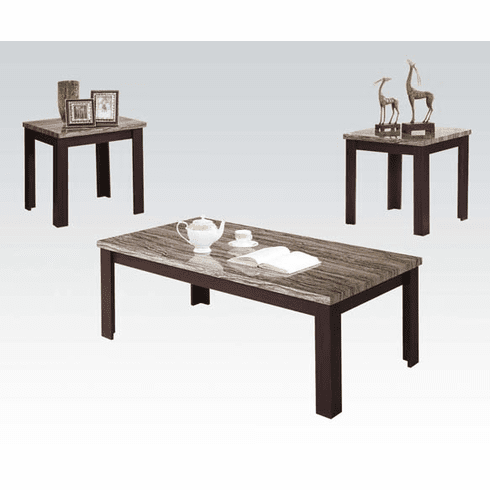 Carly 3-Piece Table Set by Acme