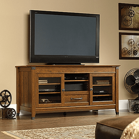 Carson Forge Entertainment Credenza by Sauder