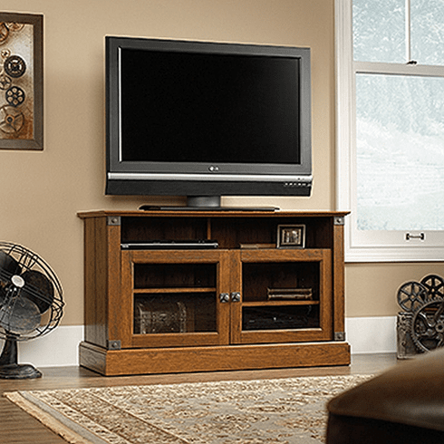 Carson Forge Panel TV Stand by Sauder