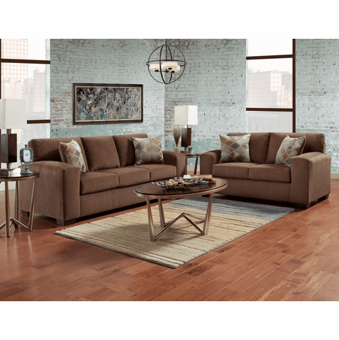 Charisma Cocoa Sofa by Affordable