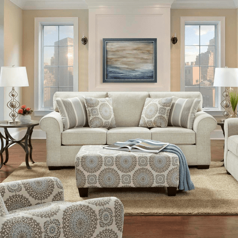 Charisma Linen Sofa by Affordable