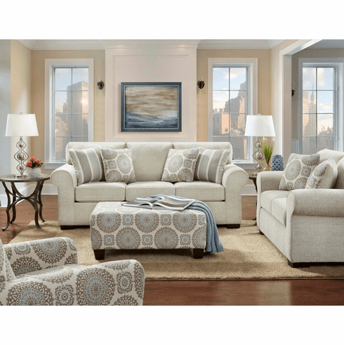 Affordable Furniture<br>Charisma Linen Sofa
