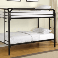 Coaster Black Twin/Twin<br>Bunk Bed Frame