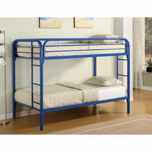 Coaster Blue Twin/Twin<br>Bunk Bed Frame