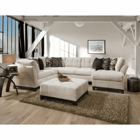 Corinthian Furniture<br>Heath Rice Sectional