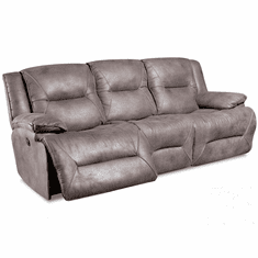 Corinthian Rodeo Charcoal<br>Reclining Sofa
