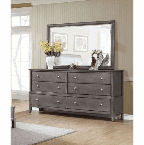 Dresser and Mirror by Lifestyle
