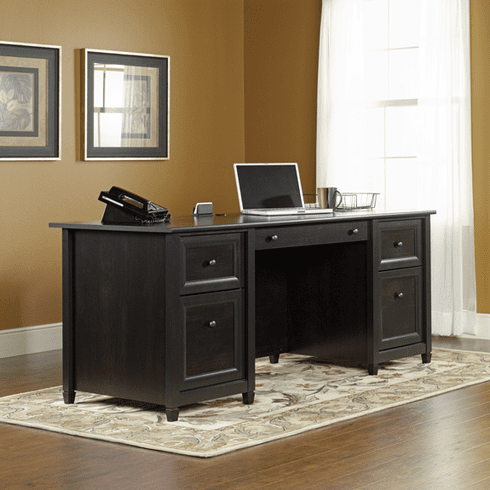 Edge Water Executive Desk by Sauder
