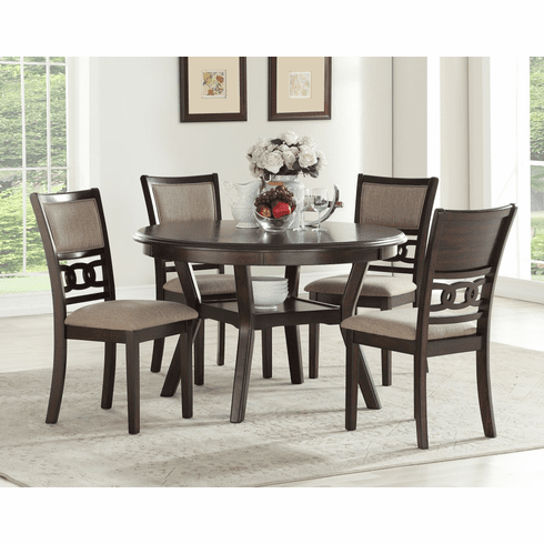New Classic Gia Cherry<br>5 Piece Dining Set