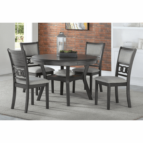 New Classic Gray<br>5 Piece Dining Set