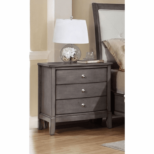 Grey Nightstand by Lifestyle