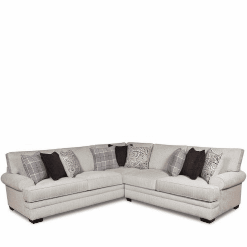 Griffin Menswear 2 Piece Sectional by Corinthian