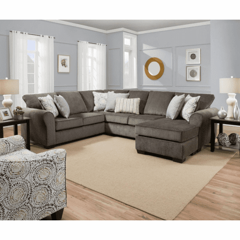 Harlow Ash 2 Piece Sectional by Lane Furniture