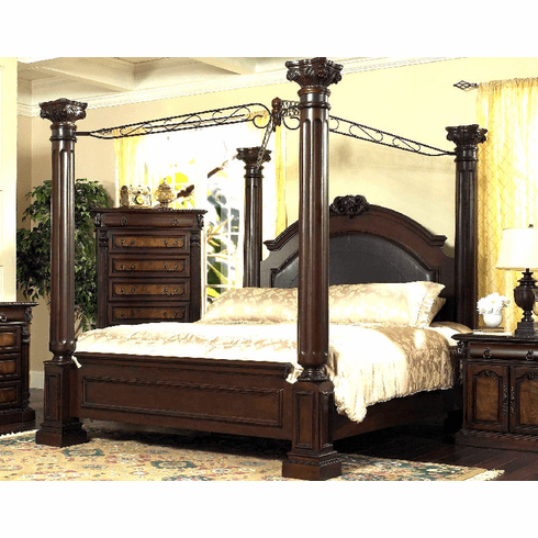 King Canopy Bed by Lifestyle