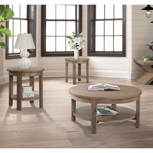 Lane Tustin Oak 3 Piece<br>Table Set