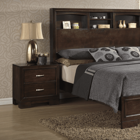 Lifestyle 4233 Bookcase<br>King Size Bed
