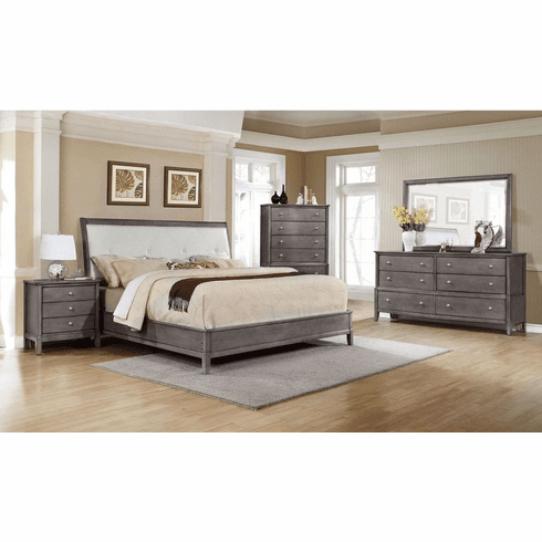 Lifestyle 7185G Grey 7 Piece Queen Bedroom