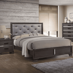 Lifestyle 7300 Grey 7 Piece Queen Bedroom