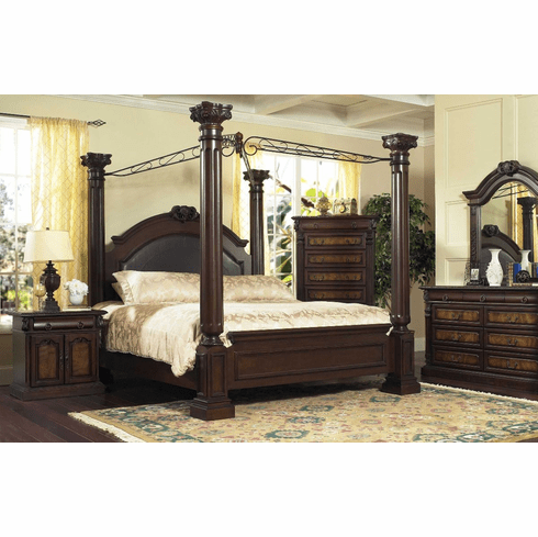 Lifestyle 9218 Canopy Queen Bedroom
